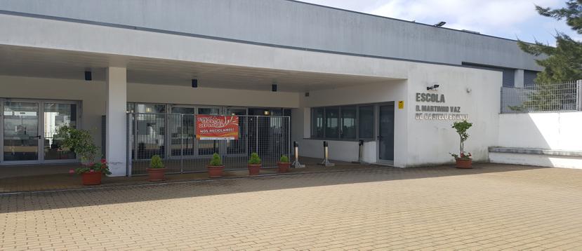 Escola Básica e Secundária D. Martinho Vaz de Castelo Branco(Sede)